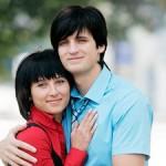 Дмитрий Колдун со своей будущей женой Викой