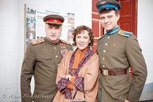 Прохор Шаляпин вместе с другими актерами